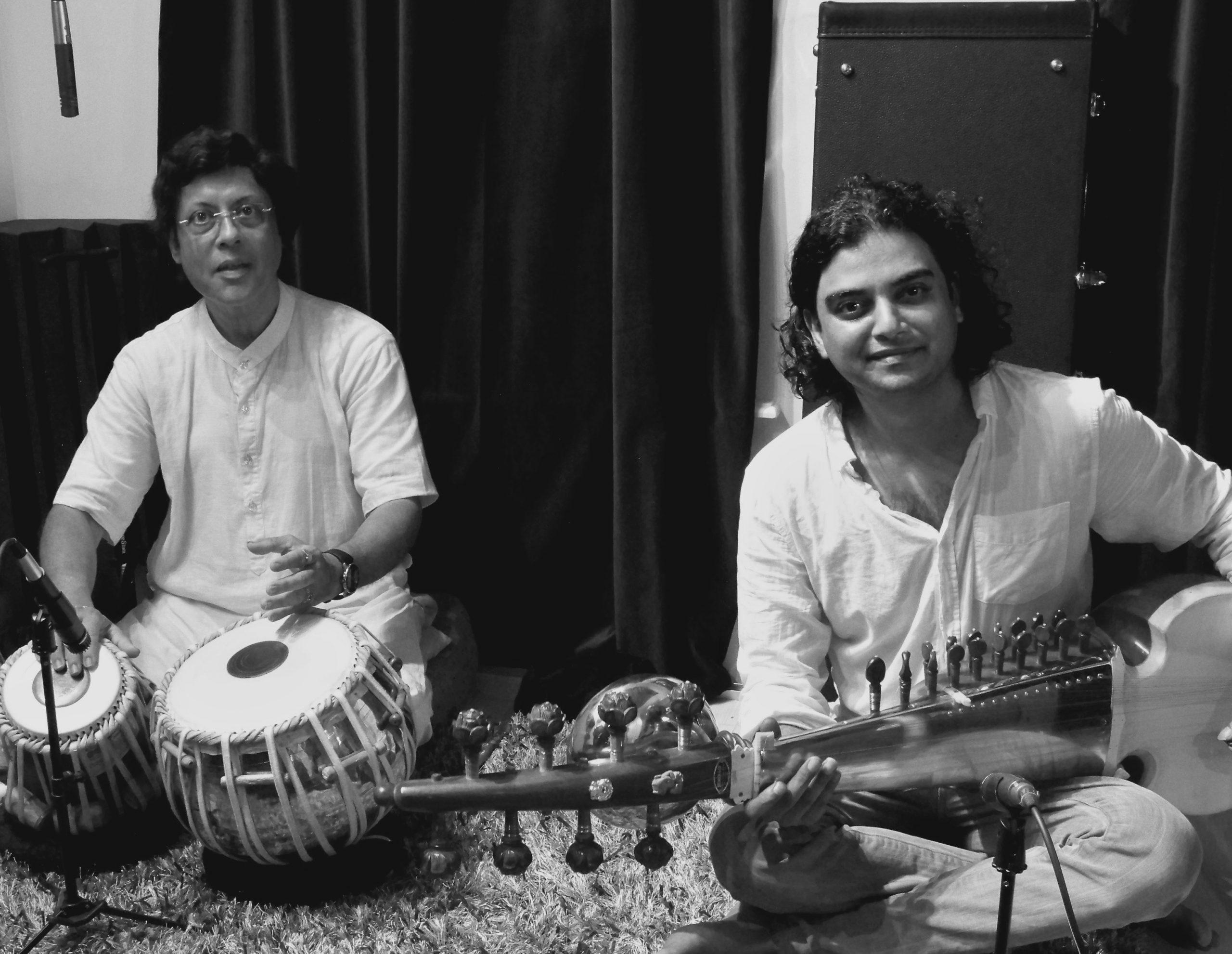 Anupam Shobhakar and Pandit Anindo Chatterjee